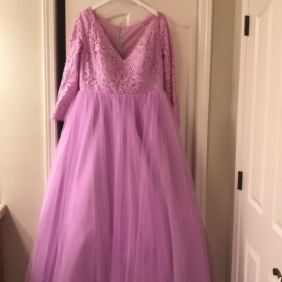 63% off JJsHOUSE Dresses & Skirts - Lilac ball gown from Katie\'s ...